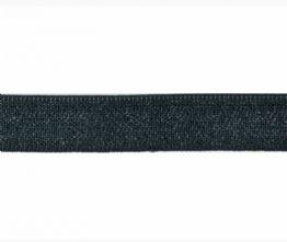 Black Peta-Stretch Waistband Elastic 22m x 1m